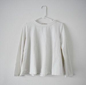 Anthro eri + ali comfy loose top